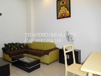 01 bedroom serviced apartment in Tan Binh District for rent .