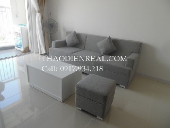 Asian style 2 bedrooms apartment in Tropic Garden for rent.