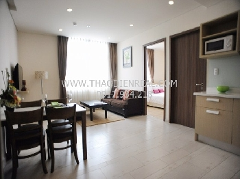 Nice 2 bedrooms service apartment in District 3 for rent