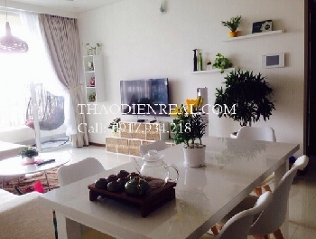 Lovely 2 bedrooms apartment in Thao Dien Pearl for rent