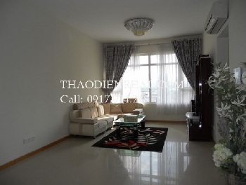 Asian style 2 bedrooms apartment in Saigon Pearl for rent