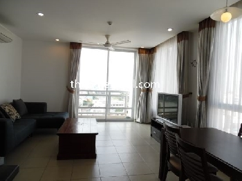 Feature: air conditioning in living room and bedrooms, washing are...