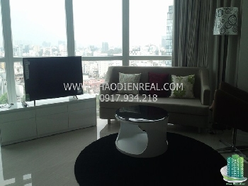Gorgeous 2 bedrooms apartment in Ben Thanh Luxury for rent 