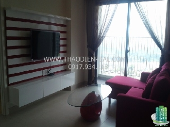 Simple 2 bedrooms apartment for rent in The Masteri 
