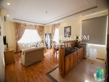 2 bedroom serviced apartment with balcony in district 5