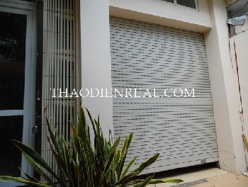 2 bedrooms house in Thao Dien area for rent.