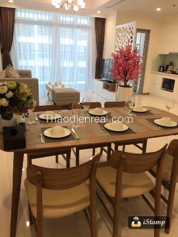Thao Dien Real Apartment For Rent in Vinhomes Central Park , Brand new 