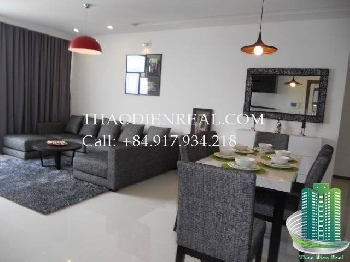 3 bedroom Beautiful ThaoDien Pearl apartment for rent by ThaoDienReal.com - TDP-08413