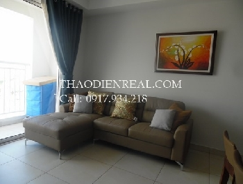Basic style 2 bedooms apartment in Tropic Garden for rent.