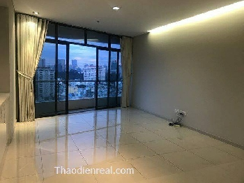 3 bedroom Masteri for rent by thaodienreal.com 1300usd/month included management fee! very high floor, T3, No.7, river view Available now!