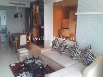 Asian style 2 bedrooms apartment in City Garden for rent