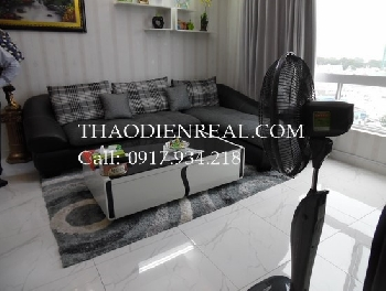 Asian style 2 bedrooms flat in Central Plaza