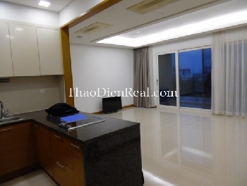 Basic furnitures, nice view 2 bedrooms apartment in Xi Riverview for rent.