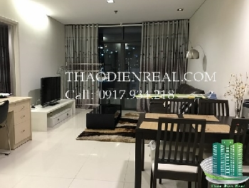 Beautiful City Garden apartment for rent with close kitchen, pool view