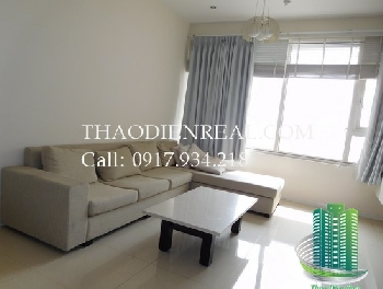 Beautiful City View simple design 2 bedroom Saigon Pearl for rent