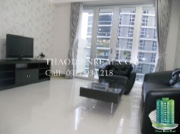 Beautiful Inner View 2 bedroom Airport Plaza apartment for rent, fully furnish