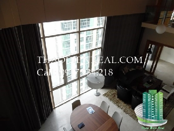 Beautiful Penthouse in The Vista for rent river view, 4 bedroom, modern design