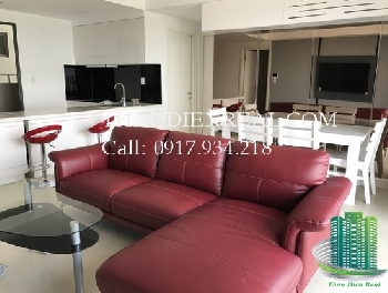 Beautiful river view Masteri Thao Dien for rent, 3 bedroom, grand view