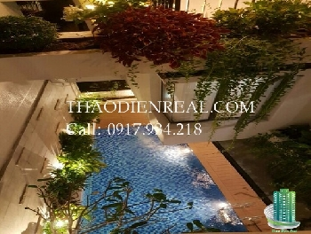 Beautiful villa compound in Binh An Ward, An Phu An Khanh for rent, 5 bedroom, pool and park.