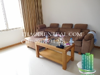 Beautiful wooden style 2 bedroom Saigon Pearl apartment awesome view