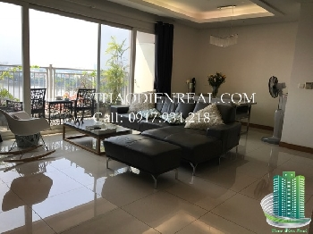 Beautiful Xi River View Palace apartment for rent, quite modern, open river view