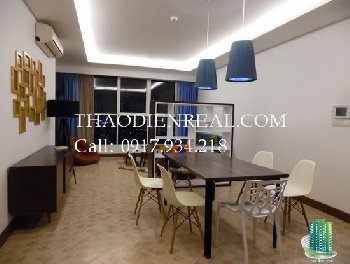 Best rent 3 bedroom Thao Dien Pearl for rent, fully furnished, nice view