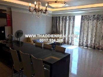 Cantavil Hoan Cau apartment for rent 3 bedroom 120sqm