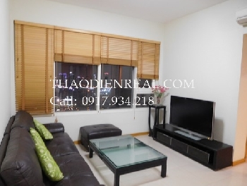 City view 2 bedrooms apartment in Saigon Pearl for rent.