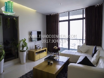 Colorful 1 bedroom apartment in City Garden for rent