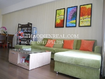 Good looking 2 bedrooms apartment in Saigon Pearl for rent