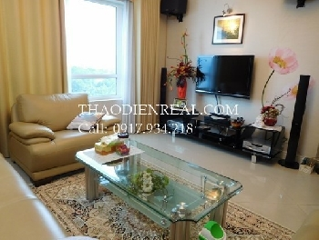 Good looking 3 bedrooms apartment for rent in Phu Nhuan Tower