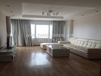 Good price 3 bedrooms service apartment for rent in Binh Thanh.