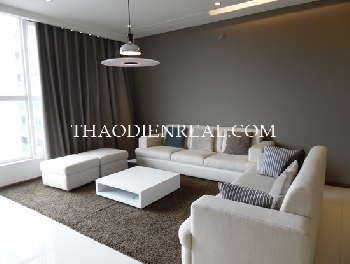 Gorgeous decoration 3 bedrooms apartment in Thao Dien Pearl for rent