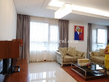 Gorgeous living space of 3 BR apartment inXi Riverview Palace for rent.<<<<= click here.
