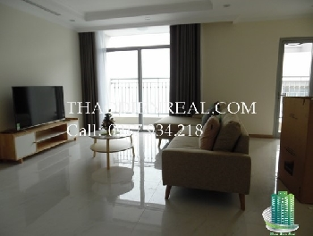Unfurnished 3 bedrooms apartment in Vinhomes Central Park for rent