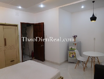 Great studio serviced apartment in Nguyen Cuu Van for rent.