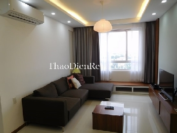 Homey apartment 2 bedrooms in Tropic Garden for rent.
