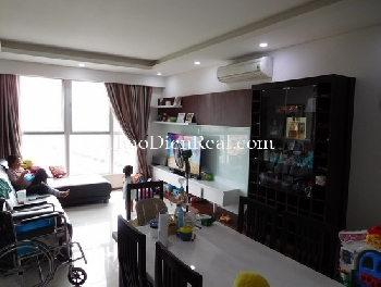 Homey decoration 3 bedrooms apartment in Thao Dien Pearl for rent.