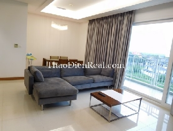 Idealized living space of 3 BR apartment in Xi Riverview Palace for rent.<<<<= click here.