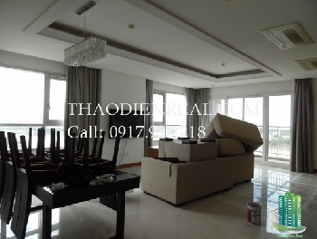 Impossible price 200sqm Xi River View Palace for rent, river view.  Rent: 3300usd/month included managment fee, VAT invoice (without fee: 2800usd/month)