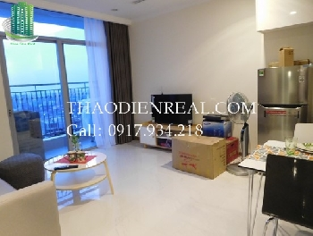 Lovely 1 bedroom apartment in Vinhomes Central Park for rent