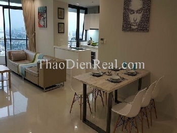 Lovely 2 bedrooms apartment in City Garden for rent.