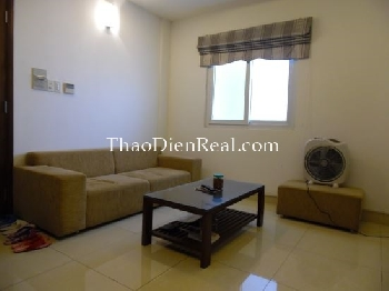 Lovely furnitures 2 bedrooms serviced apartment in Tan Binh district.