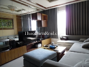 Lovely furnitures 3 bedrooms apartment in Tropic Garden for rent.