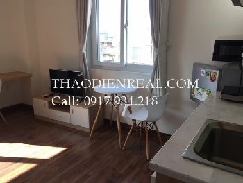Lovely serviced studio in Tran Quang Khai for rent