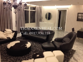 Luxury penthouse for rent in Saigon Pearl.