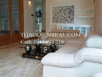 Luxury villa 3 bedrooms in Thao Dien ward for rent.