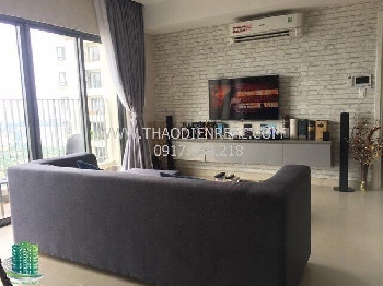 Masteri 3 bedroom for rent, fully furnished, nice apartment 1100usd/month - MTR-08418
