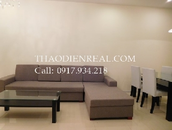 Modern 2 bedrooms apartment in Saigon Pearl for rent.
