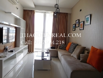 Modern 2 bedrooms apartment in Thao Dien Pearl.
